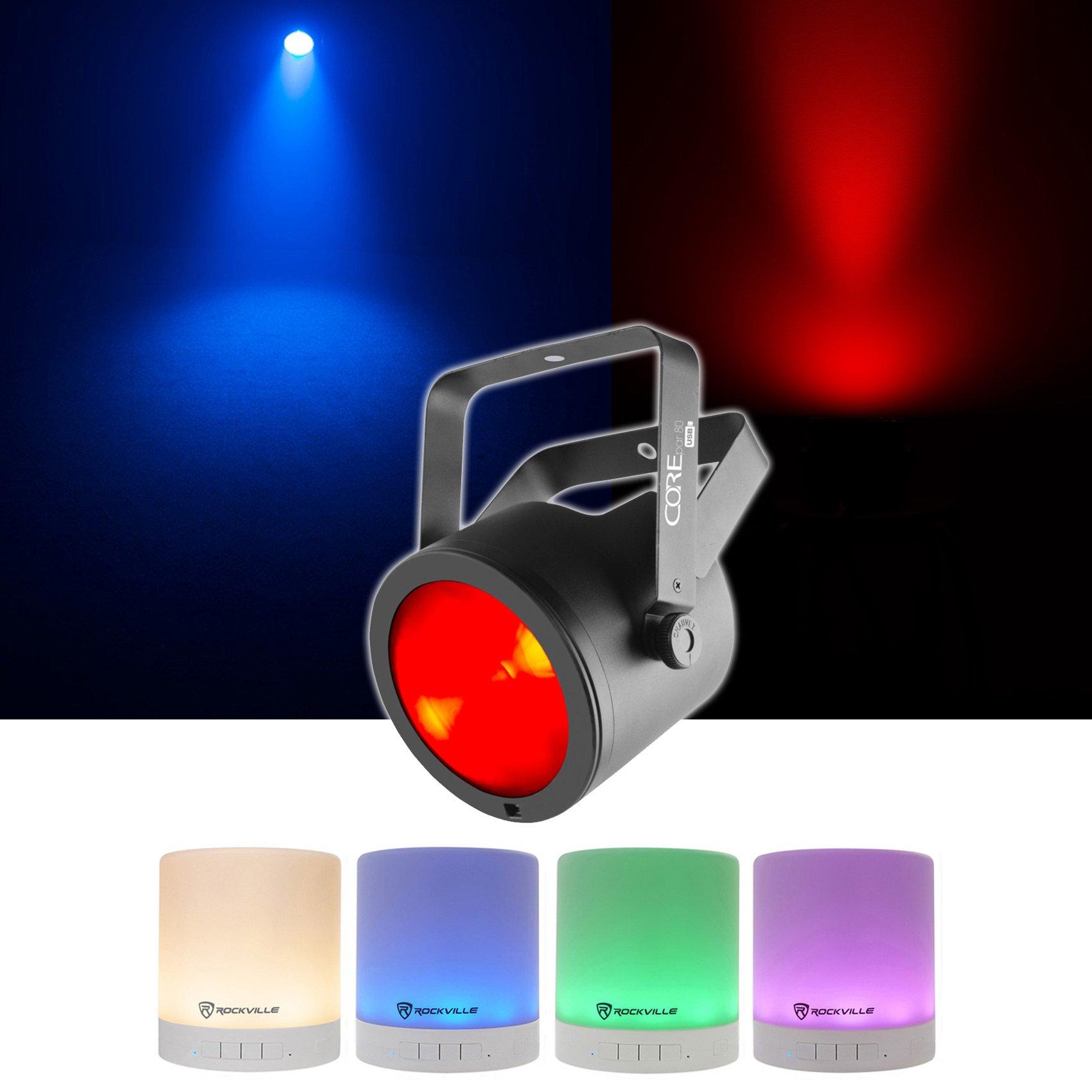 Chauvet DJ Core Par 80 USB Stage Par Light COREPAR80 FX+D-Fi USB + Free Speaker! by Chauvet