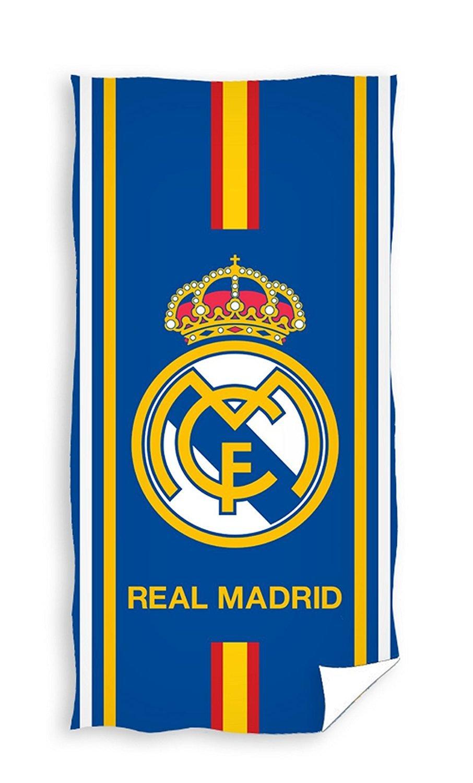 x Real Madrid Toalla de playa 150x75cm Duschtuch Badetuch Strandtuch RM17_3026: Amazon.es: Hogar