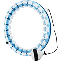 Hula Hoops for Adults Weight Loss, 24 Sections Detachable Weighted Hula Hoops Fitness for Kids and Women