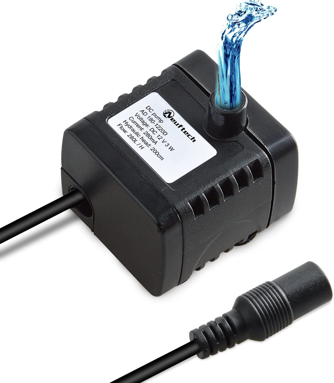 Neuftech bomba de agua sumergibles water pump para acuario de agua, fuentes ect DC 12V