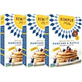 Simple Mills Pancake & Waffle, Almond Flour Mix, Gluten Free - 10.7 oz - 3 pk