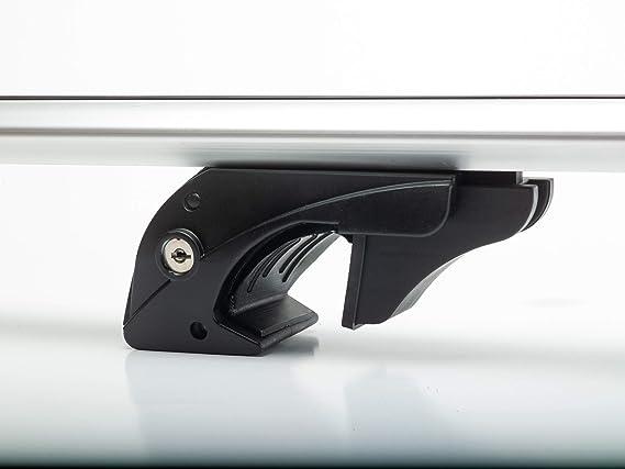 5 T/ürer Dachtr/äger VDPLION2 kompatibel mit Ford Kuga II Dachbox MAA 400 Liter ab 12