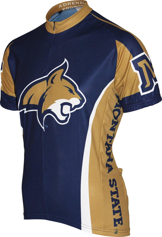 Adrenaline Promotions NCAA Montana State Bobcats Radfahren Jersey