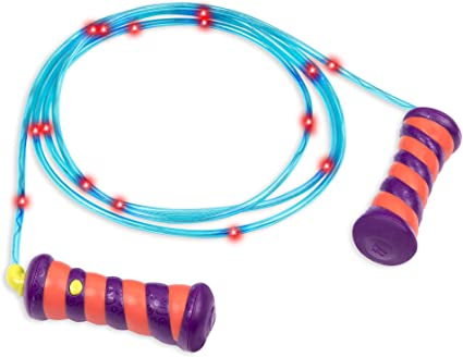 3X Wooden Handled Childrens Skipping Rope