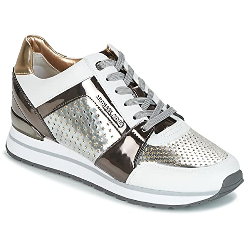 Michael Kors Zapatillas Mod. Billie Trainer Lasered Mirror Metallic, Talla 41: Amazon.es: Zapatos y complementos