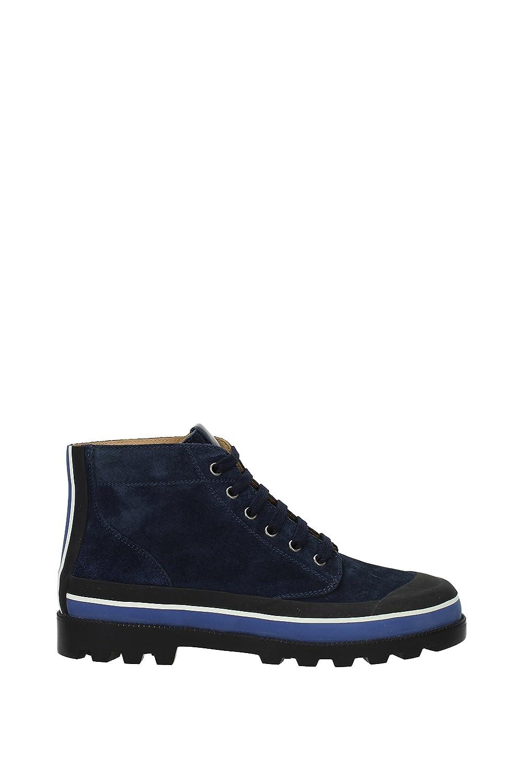 Valentino Garavani Sneakers Hombre - Gamuza (2S0966UVS) EU 42 EU|Azul Marino