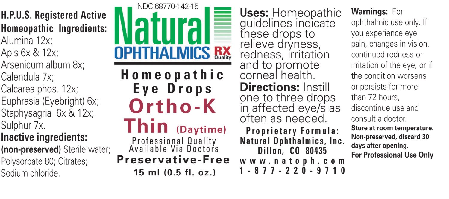 Natural Ophthalmics - Ortho-K Thin (Day) Time 15ml