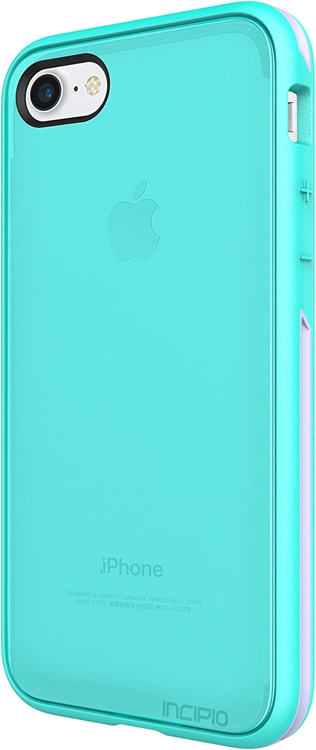 iPhone 7 Case, Incipio Performance Series Slim Protection [Shock Absorbing] Cover fits Apple iPhone 7 - Turquoise/Dusty Grape