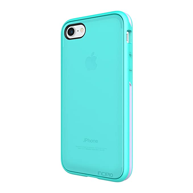 cheap for discount f3511 1166e iPhone 7 Case, Incipio Performance Series Slim Protection [Shock Absorbing]  Cover fits Apple iPhone 7 - Turquoise/Dusty Grape