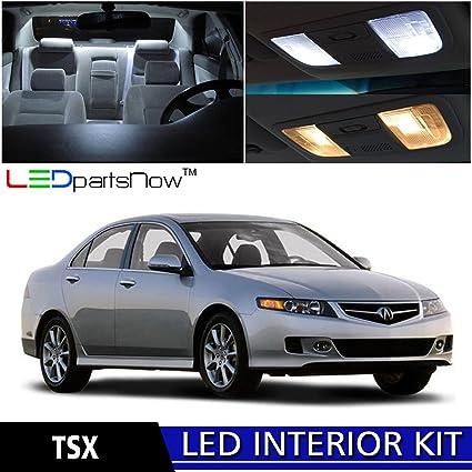 Amazoncom LEDpartsNow Acura TSX LED Interior Lights - Acura tsx accessories