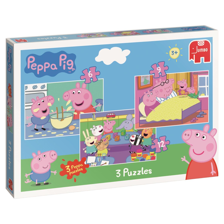 Jumbo 18481 Trio Jigsaw Puzzles In A Box