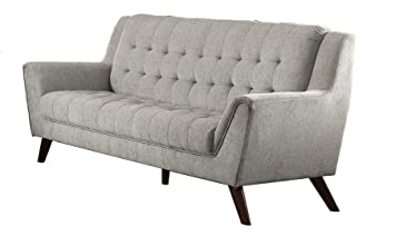 Baby Natalia Upholstered Sofa Dove Grey