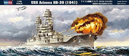 ホビーボス 1/700 艦船シリーズ アメリカ戦艦アリゾナBB-39