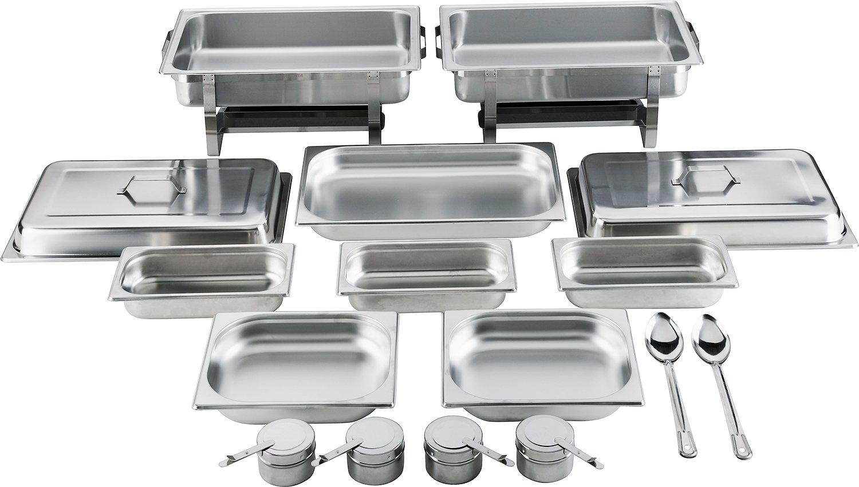 2Chafing Dish/–Calientaplatos 14piezas–Batania Exklusiv