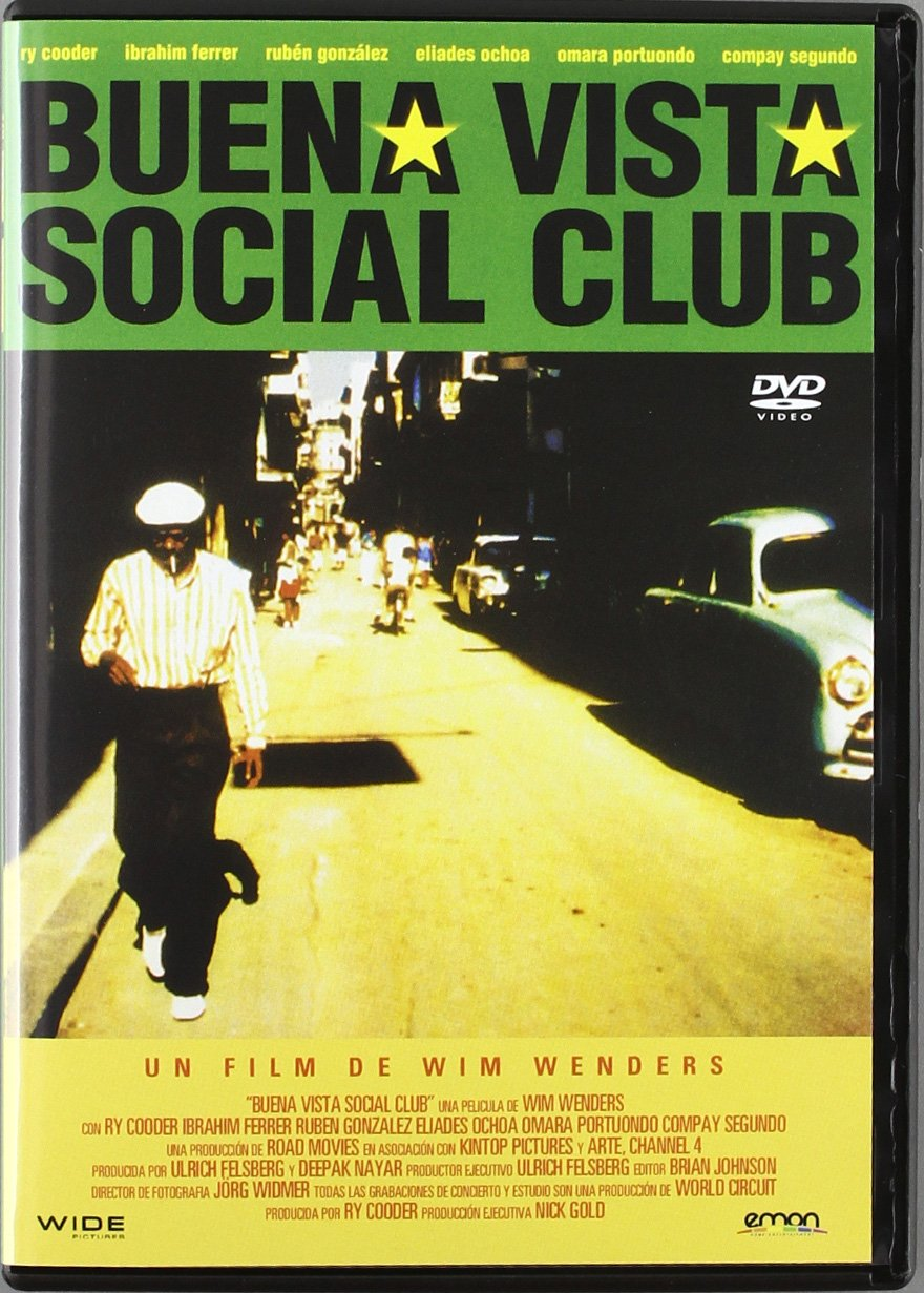 Buena Vista Social Club Import Movie European Format Zone 2 2012 Compay Segundo Ibrahim Ferrer Ru Movies Tv