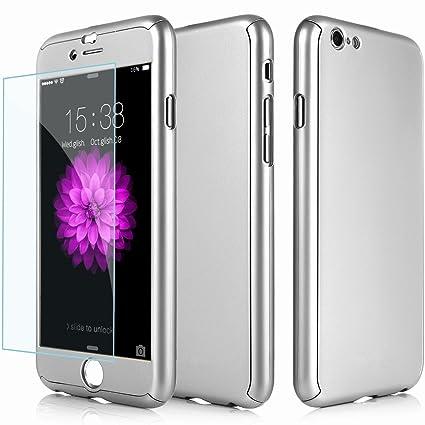 Amazon.com: efanr iPhone 7 Plus Caso, delantera y trasera de ...