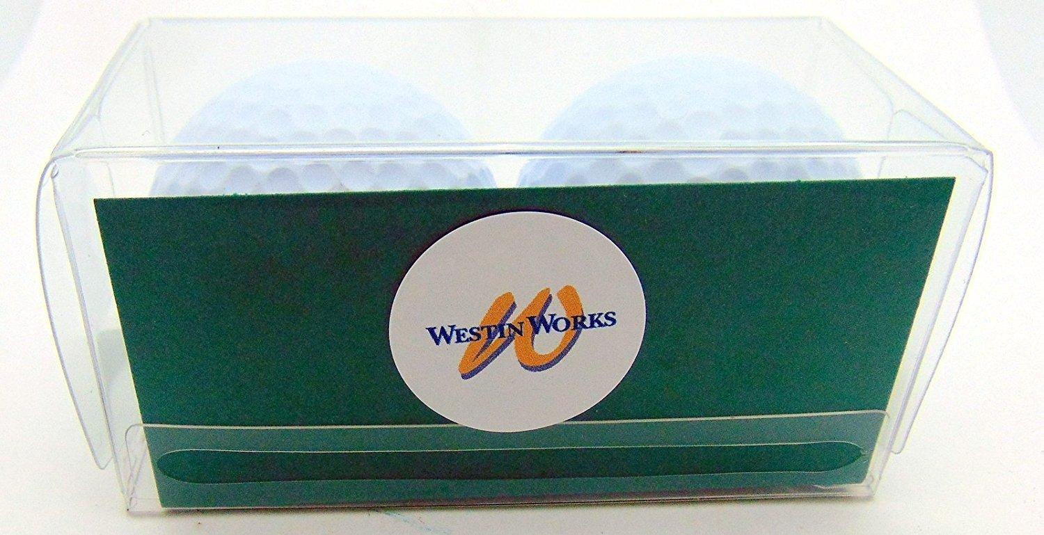 Just Married Newleywed Golf Balls Gift Boxed Two Ball Set by Westman Works (Image #3)