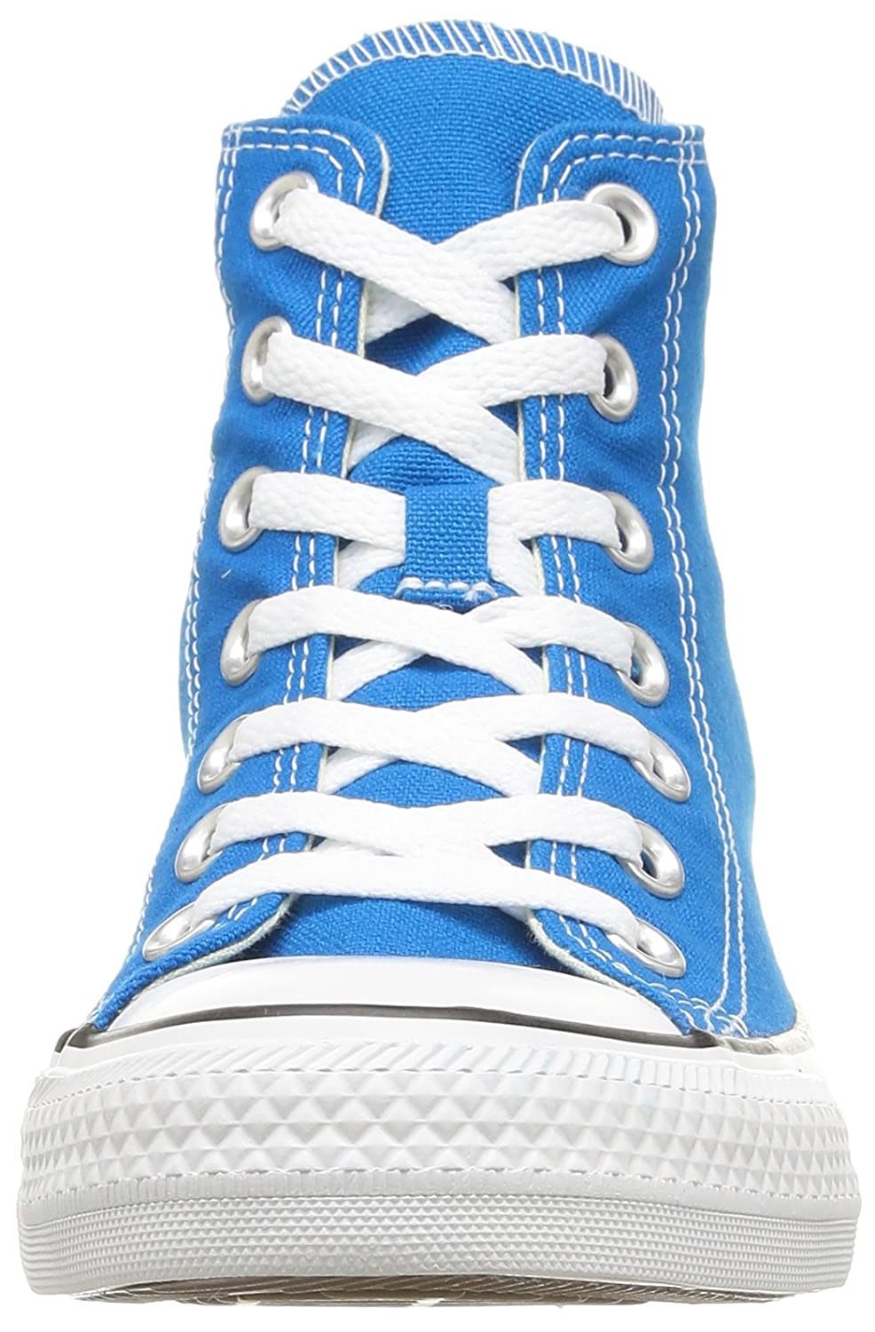 Converse Unisex-Erwachsene Chuck Taylor All Star-Hi High-Top, Schwarz Schwarz High-Top, Blau (Bleu Cyan) a3b597