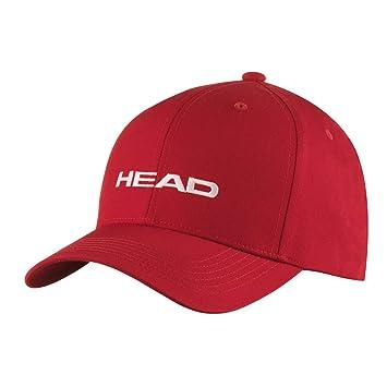 Head Promotion Cap Gorra, Rojo, Talla única: Amazon.es: Deportes y ...