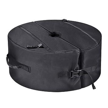 """BougeRV 18""""x18"""" 1680D Bolsa de Peso para Bases de Sombrillas, Impermeable y"""