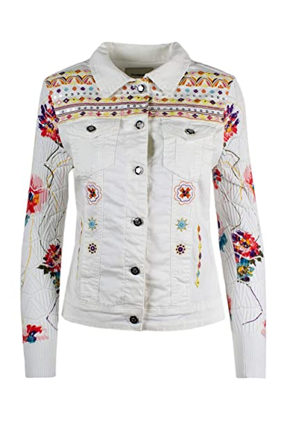 Amazon.com: Desigual Denim Chaqueta Carrie: Clothing