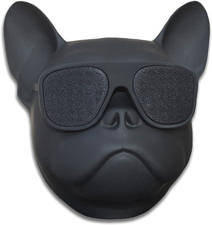 New Fashion Bulldog Head Portable Bluetooth Wireless Stereo Speaker Music Player