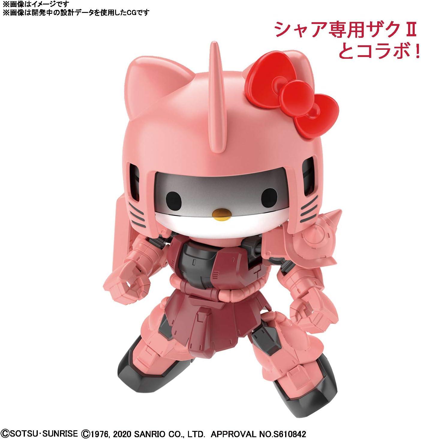 SD Gundam CrossSilhouette Hello Kitty//MS-06S Chars Zaku II 2554762 Bandai Hobby