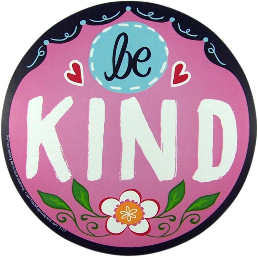 Be Kind Magnet for Car Locker or Refrigerator, 5 1/2 Inch