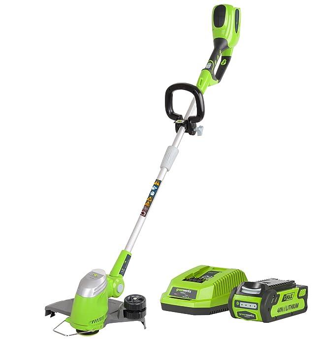 3 opinioni per Greenworks Tools 21107VA- Taglia-bordi, senza fili, a batteria, 30 cm con 2 Ah e