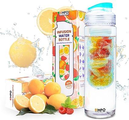 27 oz Fruit Infuser Water Bottle BPA Free Water Bottle