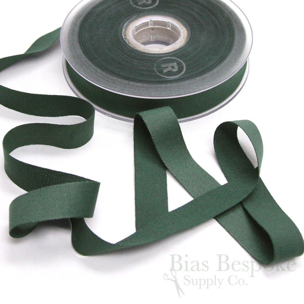 Juno Innovative Seam Binding Tape in Hunter Green Made in Italy 20 Meter Roll