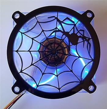 Custom Black Widow Web Computer Fan Grill 92mm