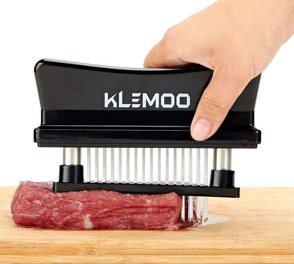 Meat Tenderizer Stainless Steel 48 Blades BBQ Season Chicken Steak Kitchen Tool