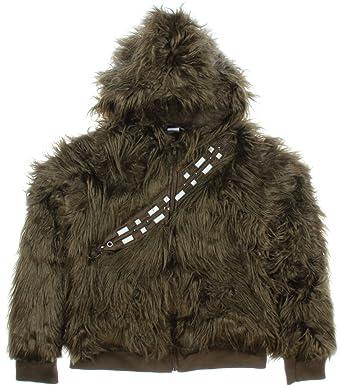 Amazon Com Star Wars I Am Chewbacca Furry Costume Junior Hoodie