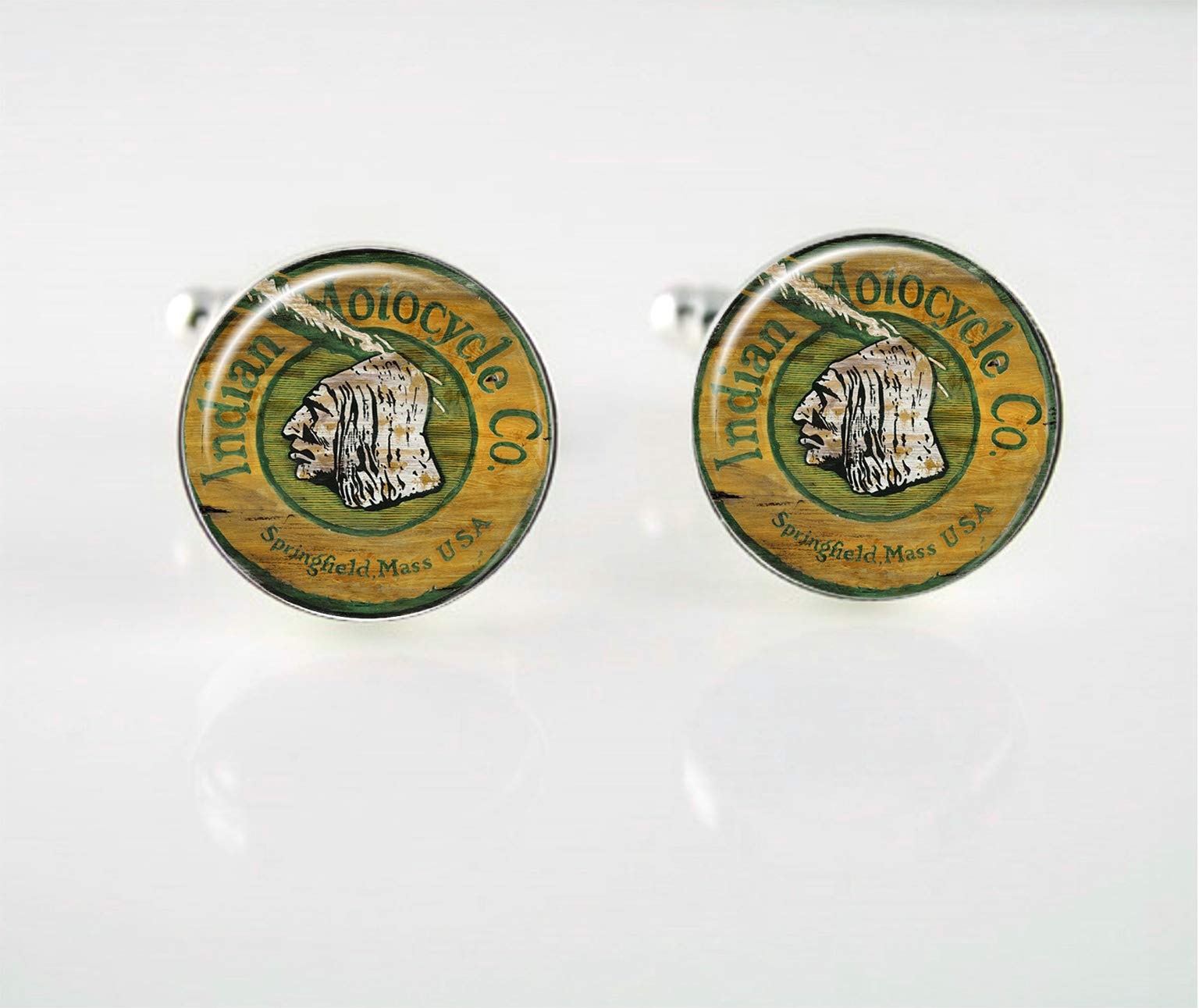 Indian Motorcycle Cuff Links