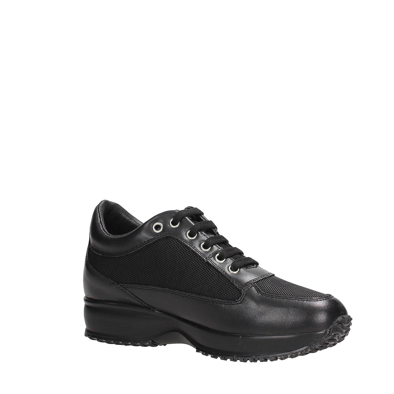 Lumberjack SW01305-005/PELLE Sneakers Donna Pelle BLACK BLACK 40 qZHS6J