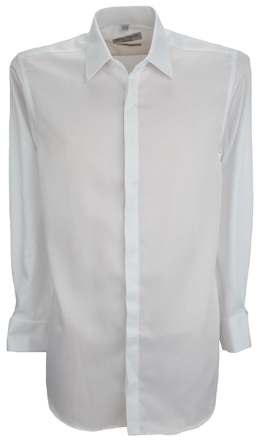 TALLA 38 Regular. Bellissimo - Camisa formal - Clásico - Manga Larga - para hombre
