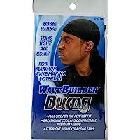 WaveBuilder Durag Noir Pour Homme