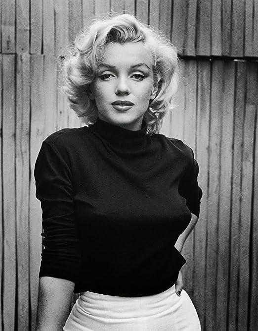 Amazon|Marilyn Monroe Black and White 8x10 photo|アートフレーム ...