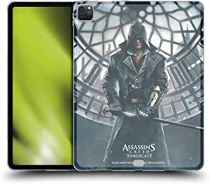 Head Case Designs Officially Licensed Assassin's Creed Jacob Frye Syndicate Key Art Soft Gel Case Compatible with Apple iPad Pro 12.9 (2020)