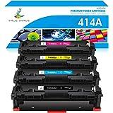 True Image Compatible Toner Cartridge Replacement for HP 414A W2020A 414X HP Color Laserjet Pro MFP M479fdw M479fdn…