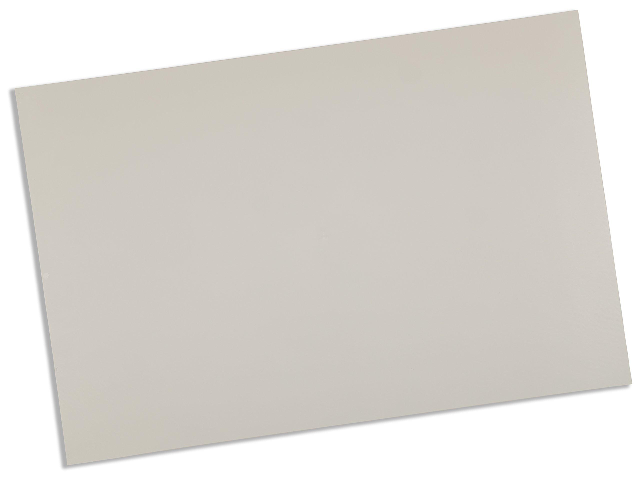 Rolyan Splinting Material Sheet, Polyform, White, 1/8'' x 24'' x 36'', Solid, Single Sheet