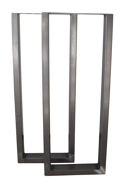 U Legs 38  High Bar Type 2 Pack RAW Steel 15  Wide