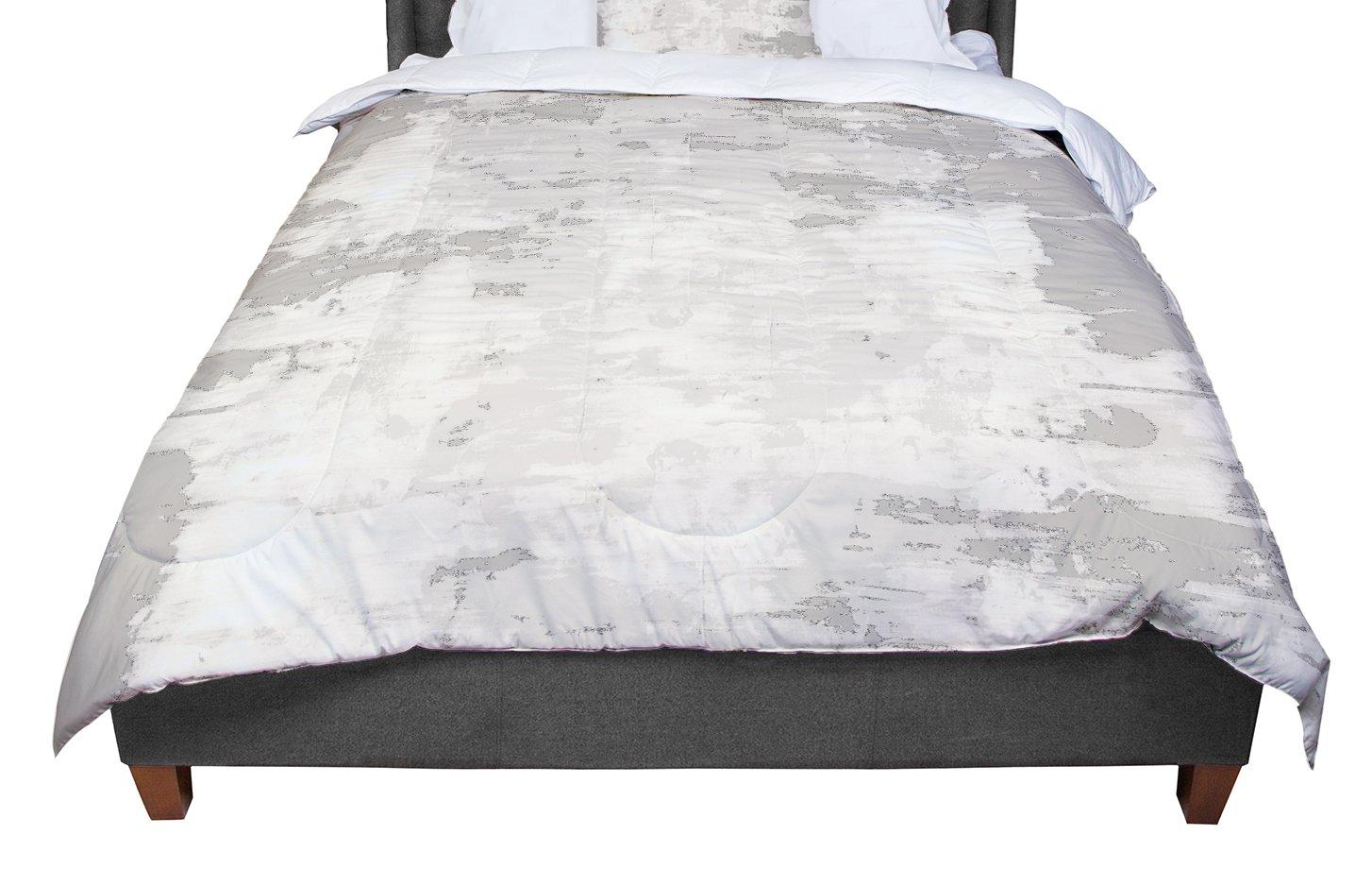 KESS InHouse CarolLynn Tice 'Secluded' Brown Tan Queen Comforter, 88' X 88'