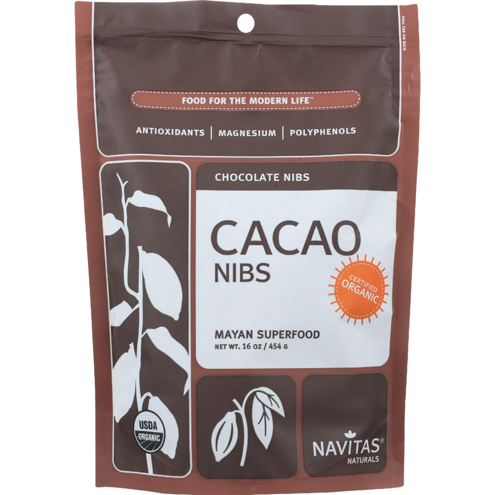 Navitas Cacao Nibs Org