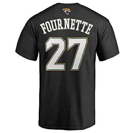 20c49eaa7 Outerstuff Leonard Fournette Jacksonville Jaguars  27 Black Youth  Performance Name   Number T Shirt (