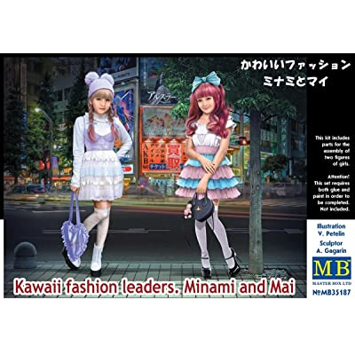 Master Box Ltd. MB35187 – Figurines Kawaii Fashion Leaders Minami and May: Toys & Games