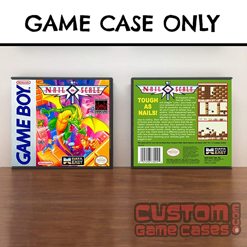 Amazon.com: Gameboy Nail n Scale - Game Case: Handmade