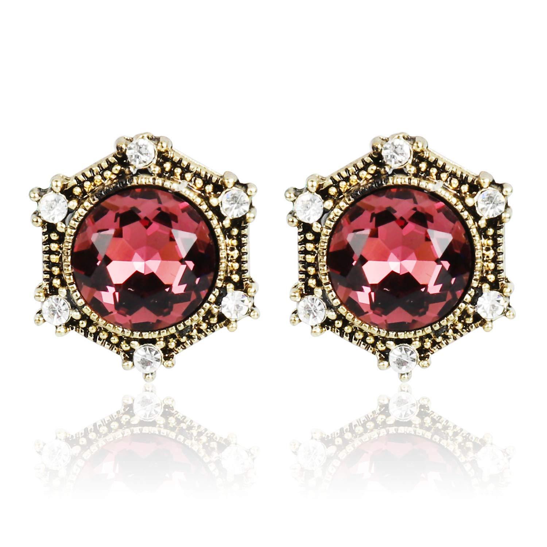Handmade Acrylic Stud Earrings Stud Earrings Jewelry for Valentine Day