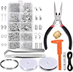Paxcoo Jewelry Making Supplies Kit - Jewelry Repair Tool with Accessories